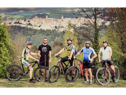 Lumaca anche in bici a Montefortino di Arcevia