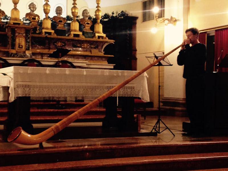 Martin Roos al Festival Organistico a Corinaldo