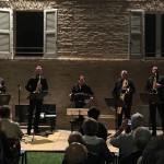 Grande successo a Trecastelli per il Concerto Federico Mondelci i Sax Quartet Gianni Iorio