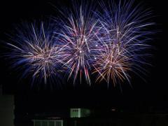 Fuochi d'artificio 2018- Foto Fedele Ruvio-fuochi