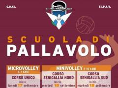Corsi microvolley, minivolley e pallavolo 2018/19 della US Pallavolo Senigallia