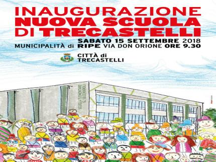 Inaugurazione scuola Secchiaroli