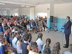 Inaugurazione scuola a Trecastelli