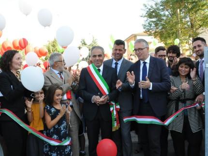 Inaugurazione scuola primaria a Trecastelli