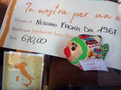 Decora per un amico, donazione per la Fondazione Lene Thun