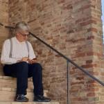 Wim Wenders a Loretello di Arcevia
