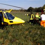 Incidente sul lavoro a Trecastelli, soccorso un 57enne gravemente ferito