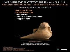 Manifesto presentazione libro Giansanti