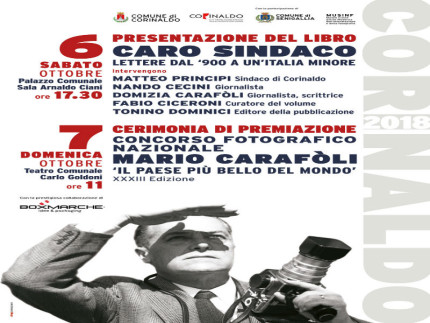 Premio Carafòli, iniziative 2018