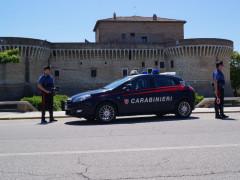 Carabinieri alla Rocca Roveresca di Senigallia