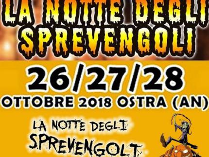 La Notte degli Sprevengoli 2018 a Ostra