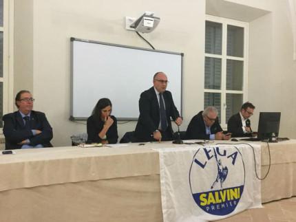 Davide Da Ros, Giuseppina Codias, Massimo Bello e Andrea Santini
