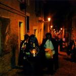 Gruppi in maschera alla Notte degli Sprevengoli di Ostra
