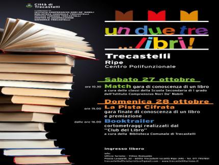 """UnDueTre Libri"" a Trecastelli"