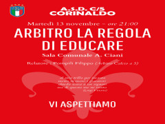 """Arbitro-Regola dell'educare"""