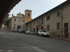 Municipio e Chiesa di San Francesco a Castelleone di Suasa