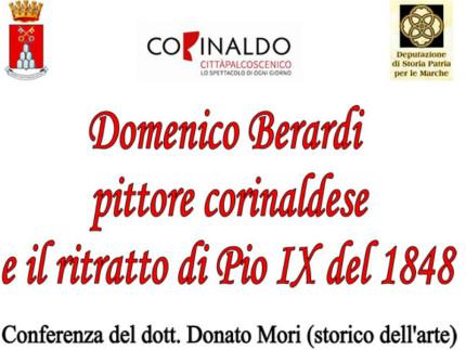 Domenico Berardi pittore corinaldese e il ritratto di Pio IX del 1848