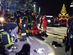 Morti e feriti alla Lanterna Azzurra di Corinaldo: gli interventi di soccorso