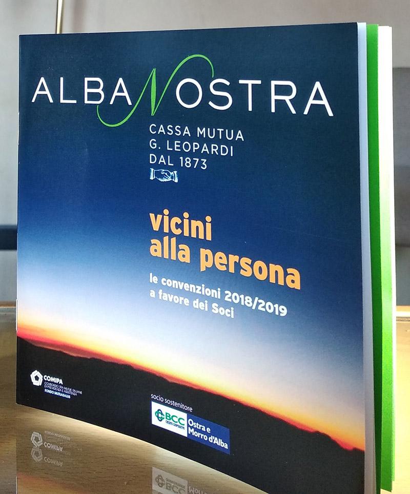 Albanostra - La Mutualità della BCC di Ostra e Morro d'Alba - locandina