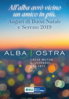 Albanostra - Auguri di Buon Natale e Sereno 2019