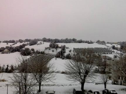 Neve a Trecastelli (foto daniella-cecchini)