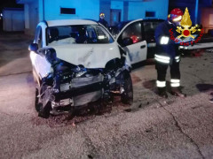 Incidente stradale a Serra de' Conti