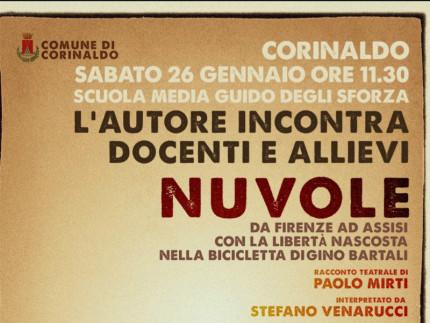 """Da Firenze ad Assisi con Gino Bartali"" a Corinaldo"