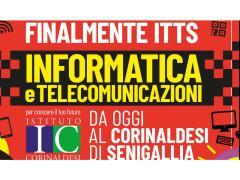 Finalmente ITTS informatica e telecomunicazioni anche a Senigallia!