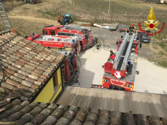 Incendio ad Ostra