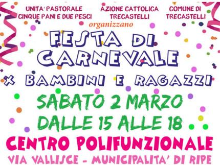 Festa di Carnevale a Trecastelli