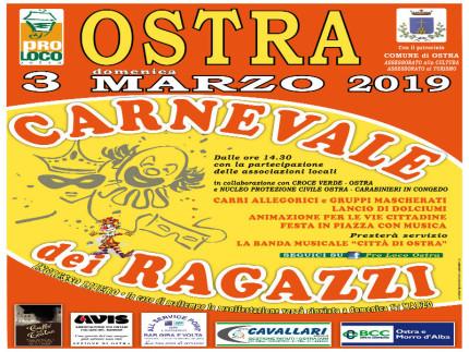 Carnevale Ostra, manifesto