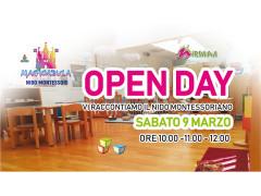Open Day al Nido Montessoriano Magicabula di Senigallia