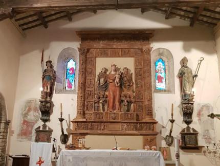 Sarà possibile visitare anche il castello di Avacelli e le sue chiese romaniche