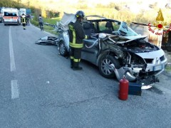 Incidente stradale a Belvedere Ostrense