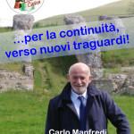 Carlo Manfredi candidato Sindaco