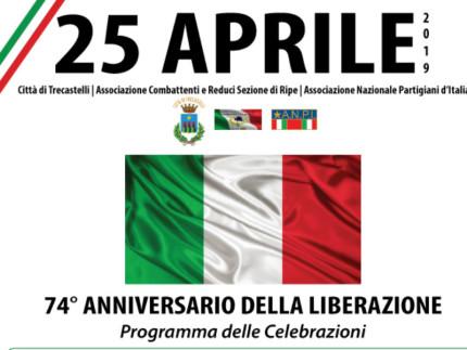 A Trecastelli si tiene l'anniversario della Liberazione