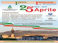 Festa della Liberazione a Castelleone di Suasa