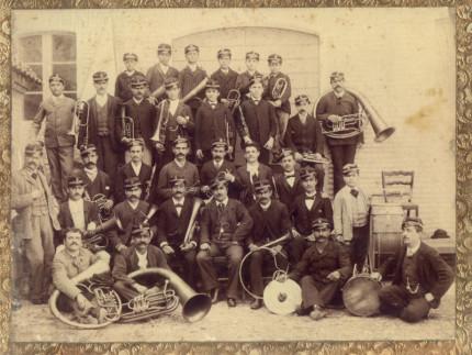 Banda musicale Ostra nel 1846