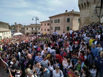 Festa dei Folli ha ridato vigore e speranza alla Città