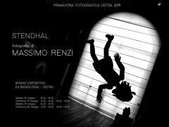 Stendhal: mostra fotografica di Massimo Renzi - locandina