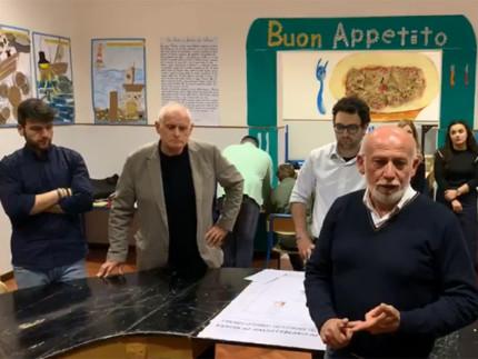 Carlo Manfredi dopo la proclamazione a sindaco di Castelleone di Suasa