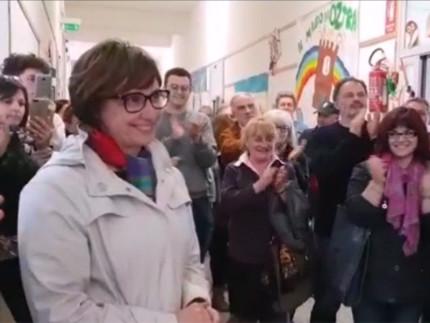 Proclamazione di Federica Fanesi a sindaco di Ostra