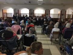 Coro ANC Ispettorato Marche allo Stabilimento Pio di Senigallia