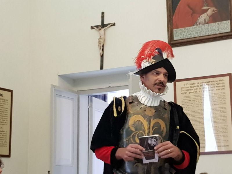 Lorenzo Livieri presenta il suo libro Il cavaliere di San Domenico