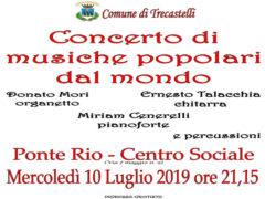 Concerto musiche dal mondo