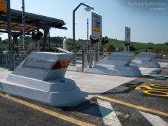 Il casello autostradale di Senigallia inaugurato nell'aprile 2011, foto di Claudio Torcoletti per Senigallianotizie.it