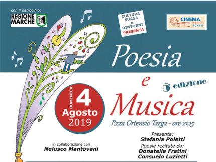 Poesia e Musica 2019 a Castelleone di Suasa