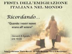 Evento a Ostra Vetere in occasione della Festa dell'emigrazione italiana nel mondo