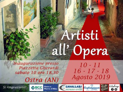 "Locandina dell'evento ""Artisti all'Opera"""