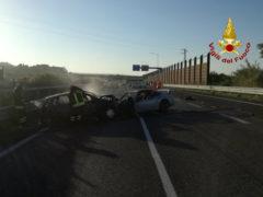 Incidente in complanare a Senigallia